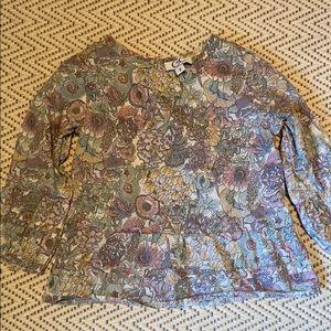 C de C girls' blouse